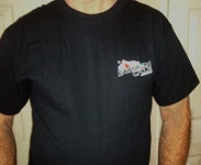 ECS Ducati 748 T-shirt Front with ECS logo