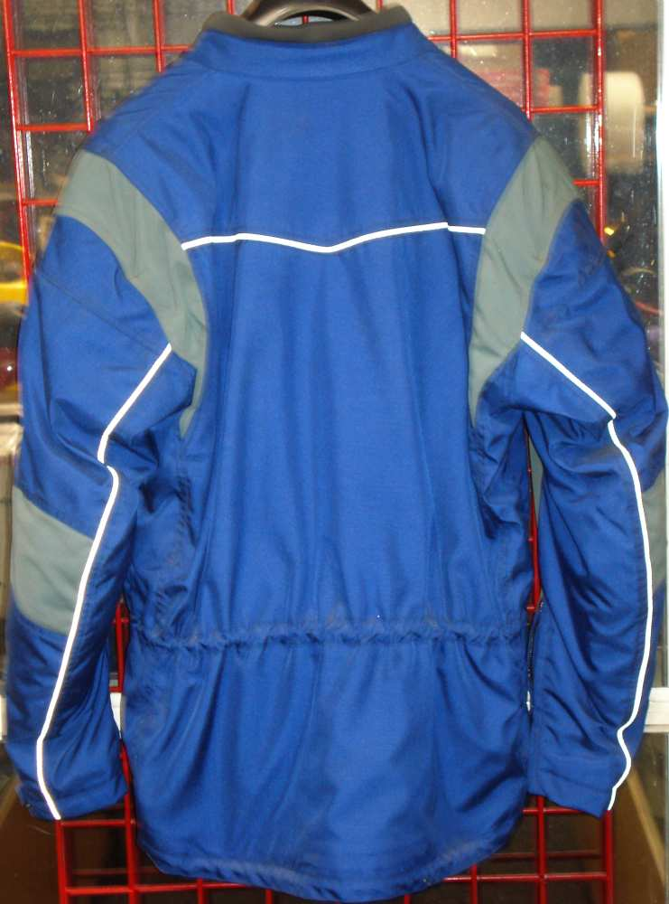 alpinestares tec road jacket blue