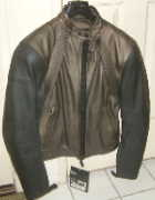 Dainese FREE leather Motorcycle jacket bronze & black