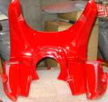 Ducati OEM MH900e Front fairing rear view