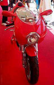 Ducati 900 MHE- front view